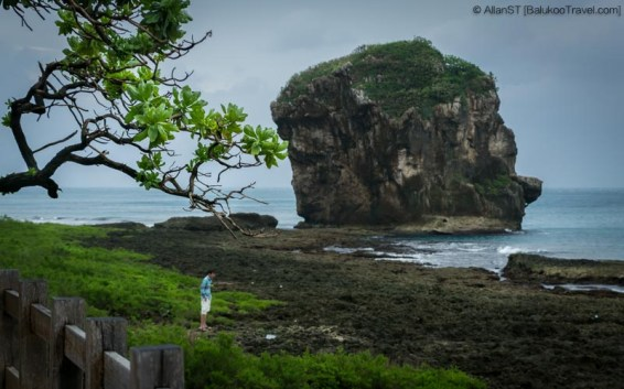"Sail Rock (also known as ""Nixon's Head""), Kenting National Park (Taiwan)"